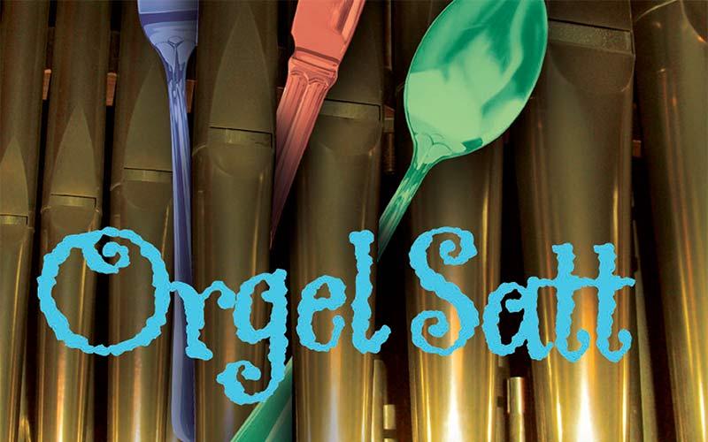 Plakat Orgel Satt