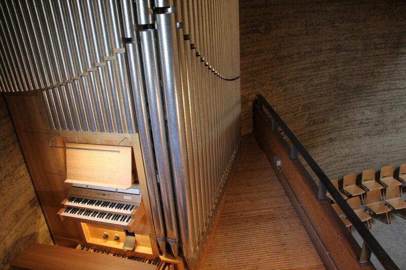 Orgel in der Kapelle der Versöhnung