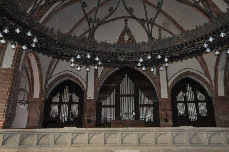 Orgel in der Stephanus Kirche
